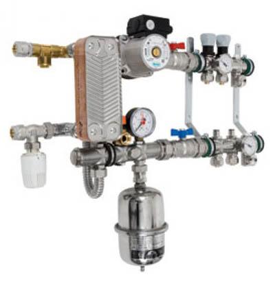 Водяной теплообменник теплый пол как снять теплообменник отопителя салона фольцваген джета 2