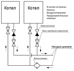 Схема подключения расширительного бака отопления фото 702