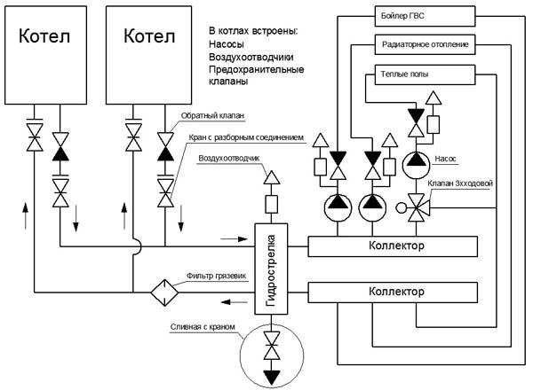 Вайлант функциональная схема